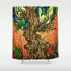 Maple Syrup Shower Curtain
