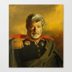 George Lucas - replaceface Canvas Print