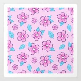 Sakura // Pink Kunstdrucke