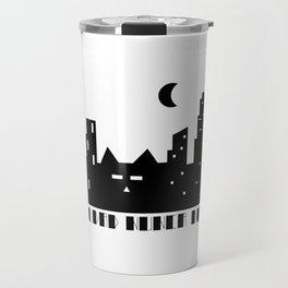 La ciudad nunca duerme Travel Mug