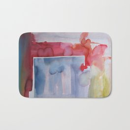 Landscape with Argonauts - Abstract 001 Bath Mat