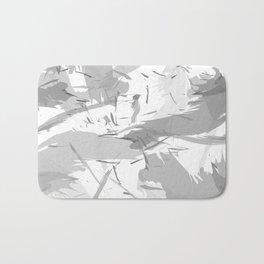 Abstract composition. Creative chaos Bath Mat