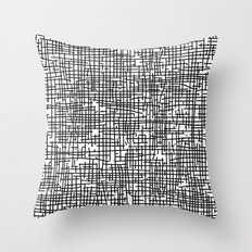 Crosshatch Throw Pillow