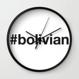 BOLIVIA Wall Clock