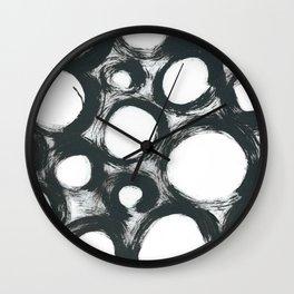 Circ Abstract Wall Clock