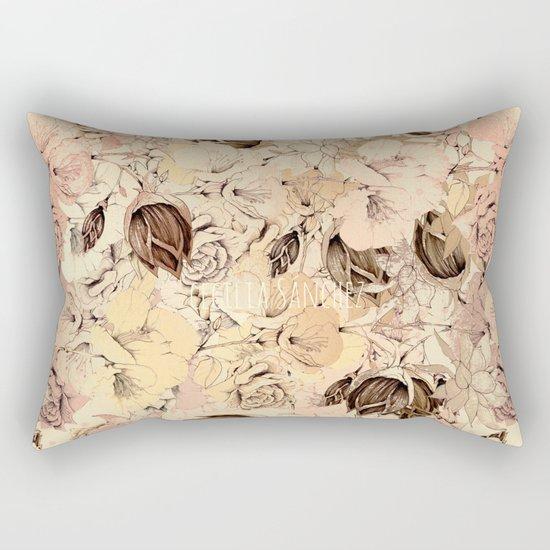 pattern Flowers Rectangular Pillow