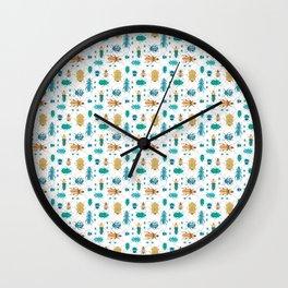 Beetles #2 Wall Clock