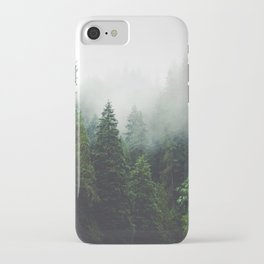 372. Cloudy Capilano forest, Vancouver, Canada iPhone Case