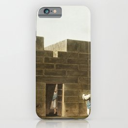 Caravansary at Borgas from Views in the Ottoman Dominions in Europe in Asia and some of the Mediterr iPhone Case