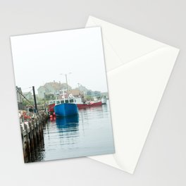 Peggy's Cove fishing village. Stationery Cards