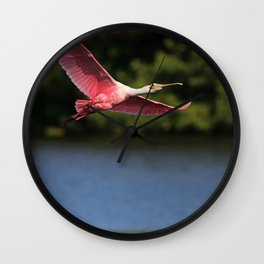 I Heard Your Voice in the Wind Wall Clock