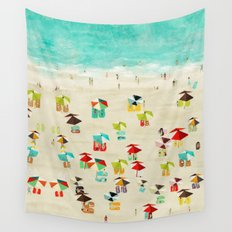 life's a beach Wall Tapestry