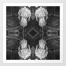 Versailles Chandelier Art Print