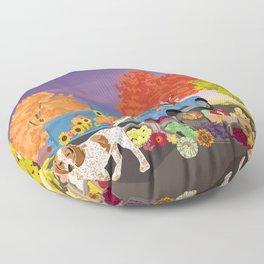 Farmers market Floor Pillow