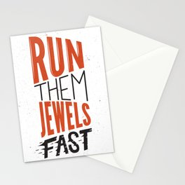 Run Them Jewels Stationery Cards
