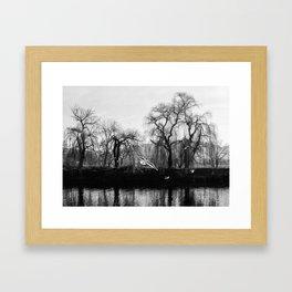 Heaviness of Freedom Framed Art Print