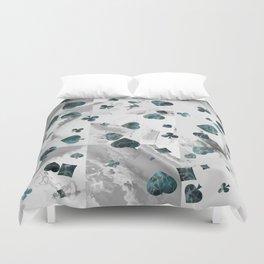 Luxury Marble Suits Pattern Digital Art Duvet Cover