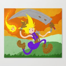 Final Fantasy VII: On Cloud 9 Canvas Print