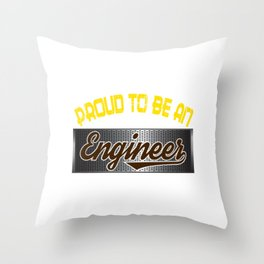 Stay a proud Engineer and tell them that your a board passer with this awesome tee! Throw Pillow