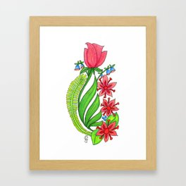 Rosalea Framed Art Print