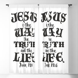 John 14:6 Blackout Curtain