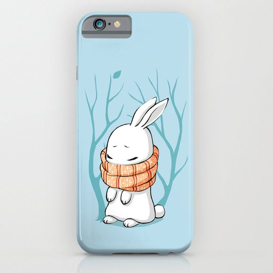 Winter Bunny iPhone & iPod Case