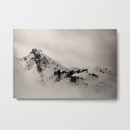 Felt Mountain Metal Print