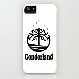 Gondorland iPhone Case