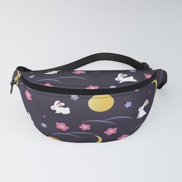 Moon Rabbits V2 Fanny Pack