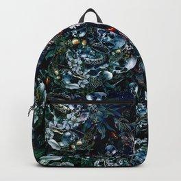 Night Garden Skulls Backpack