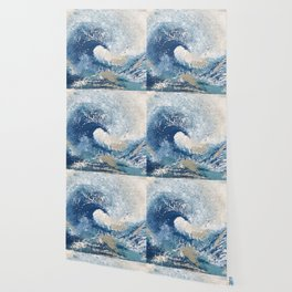 The Great Wave Abstract Ocean Wallpaper
