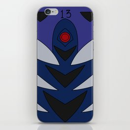 Kaworu Rebuild Plugsuit iPhone Skin