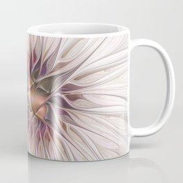 Flourish 2, Abstract Fractals Art Coffee Mug