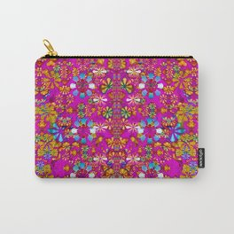 lianas of excotic in florals decorative tropical paradise style Carry-All Pouch