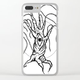 The Waking Willow Clear iPhone Case