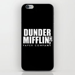 The Office Dunder Miflin iPhone Skin