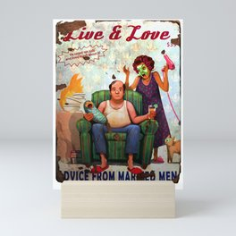 Fallout 76 Screenshot. Live and Love magazine. Mini Art Print