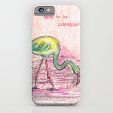 Dare to be different, Flamingo Slim Case iPhone 6s