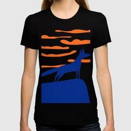 The blue fox T-shirt