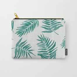 Sea Green Palms Carry-All Pouch