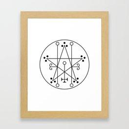 Astaroth Framed Art Print