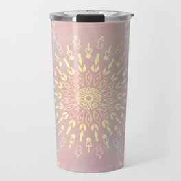 Star Bursts Mandala Travel Mug