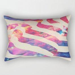 tres y seis Rectangular Pillow