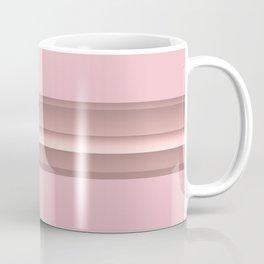 Pink Gold in Line - Rose Gold No 3 #decor #society6 #buyart Coffee Mug