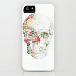 Skull Bouquet iPhone Case