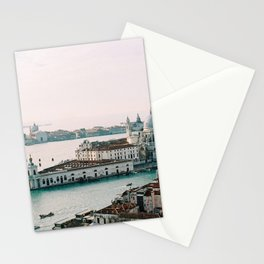 December Sunset, Venice Stationery Cards