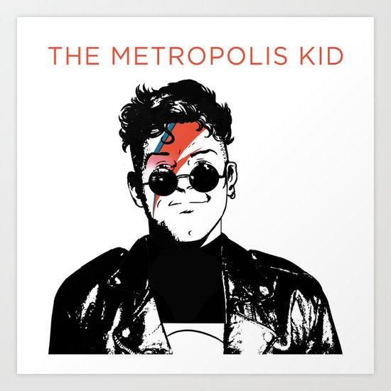 The Metropolis Kid Art Print