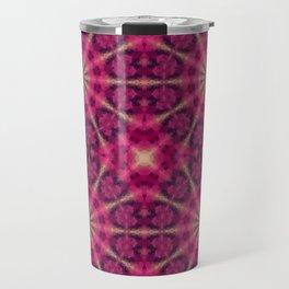 Kaleidoscope . Raspberry magic. Travel Mug