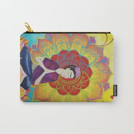 Frida Transcending Mandala and Lotus Blossom Carry-All Pouch