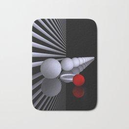 opart imaginary -6- Bath Mat